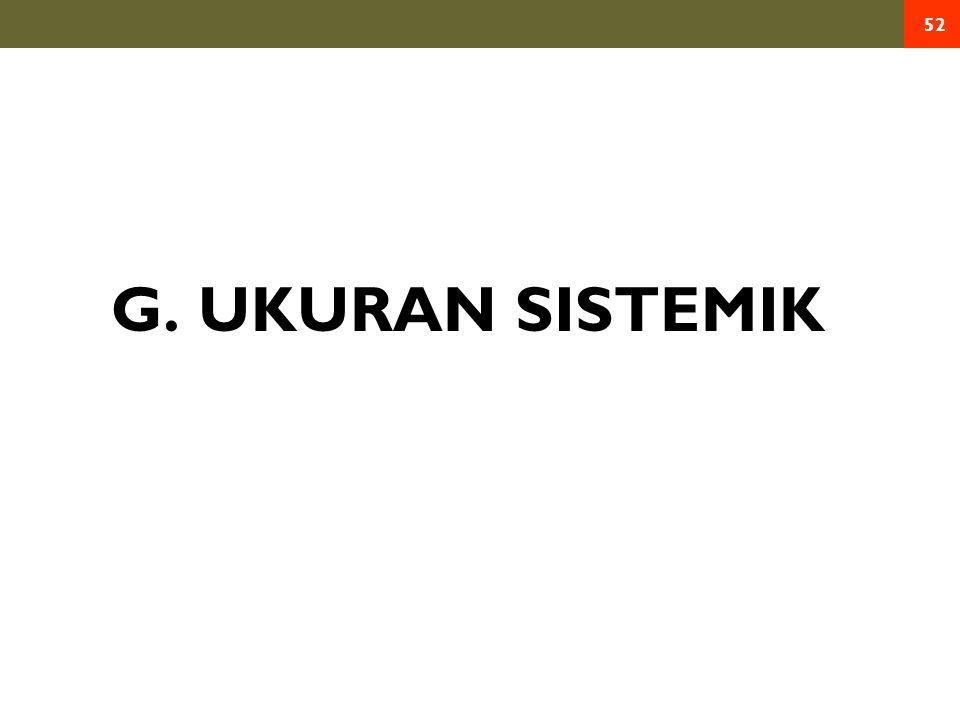 G. UKURAN SISTEMIK 52