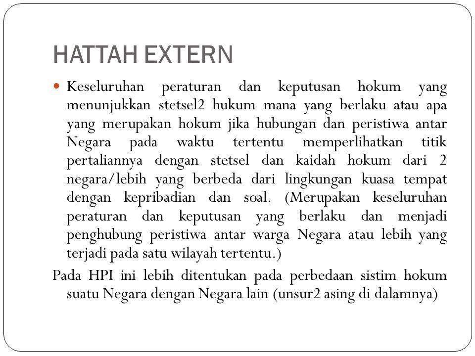 Skema : HATTAH EXTERN HPI WW T P S NN NY