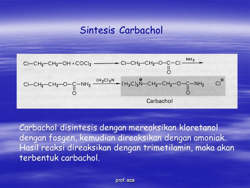 Sintesis Carbachol prof.