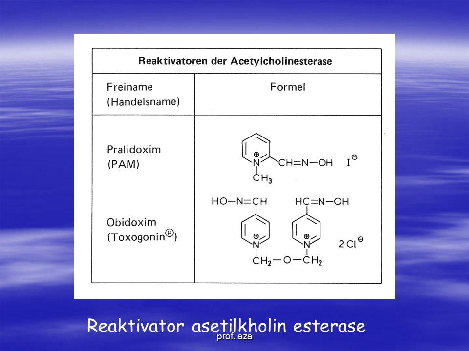 Reaktivator asetilkholin esterase prof. aza