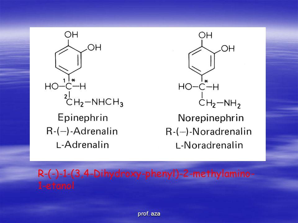 R-(-)-1-(3,4-Dihydroxy-phenyl)-2-methylamino- 1-etanol prof. aza