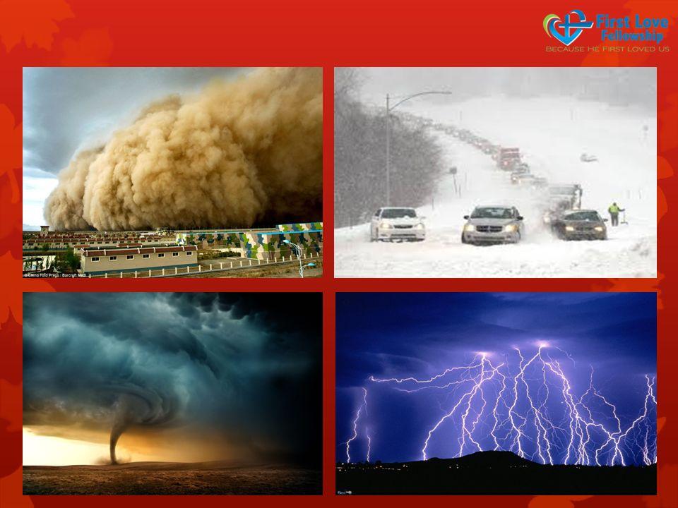 Know your storm…  It destroys…  It displaces…  It disrupts…