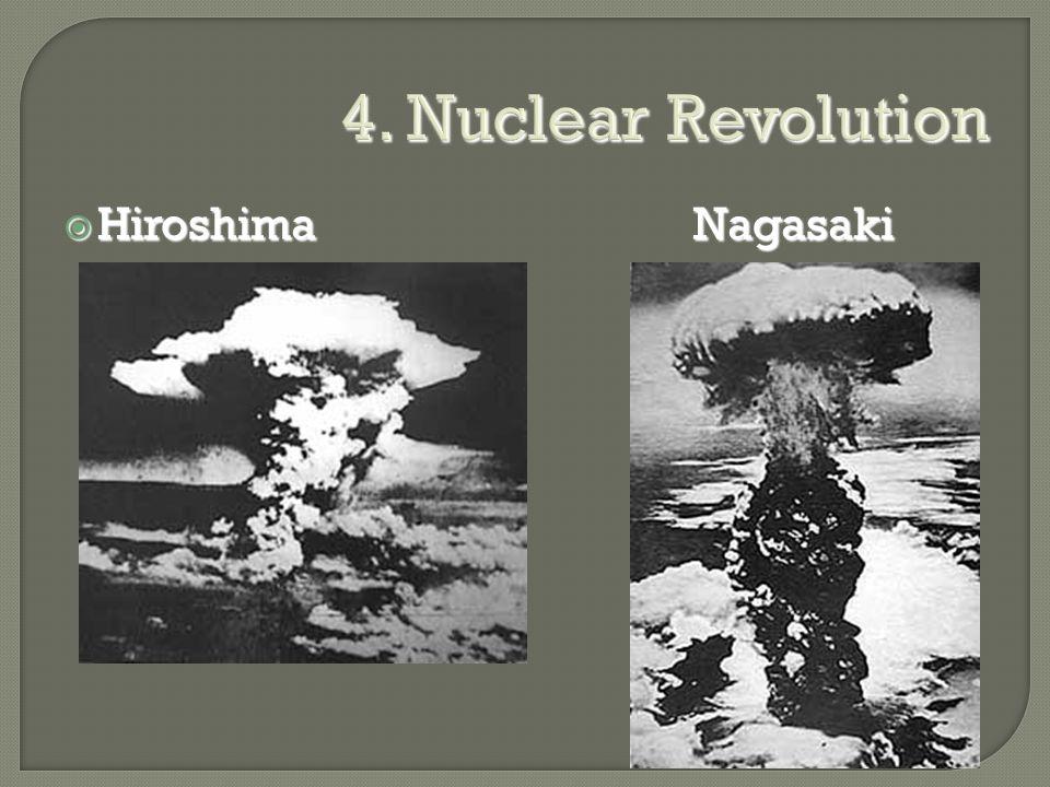 4. Nuclear Revolution  HiroshimaNagasaki