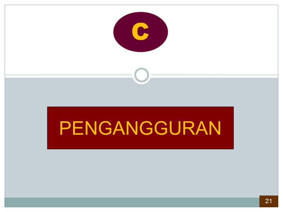PENGANGGURAN C 21
