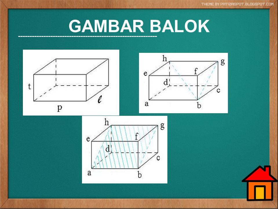 GAMBAR BALOK ------------------------------------------------------------