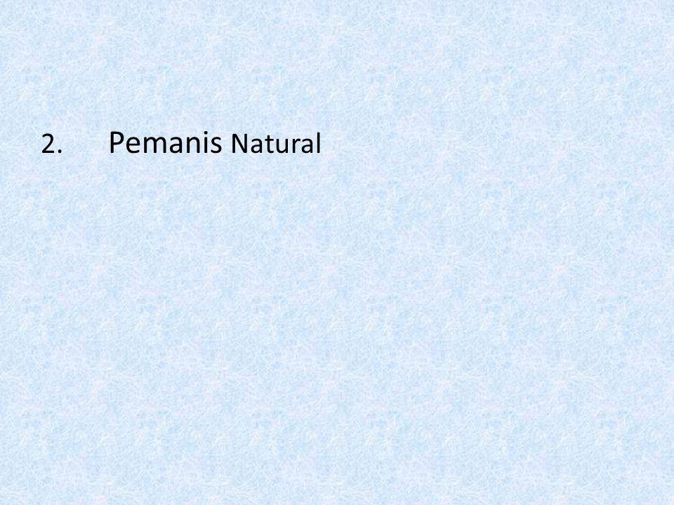 2. Pemanis Natural