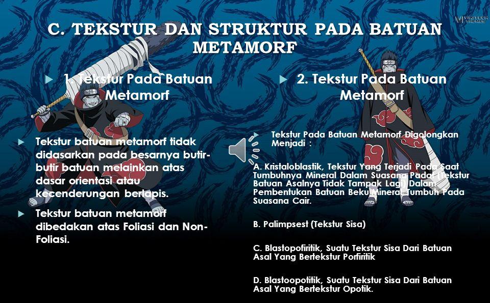 2. STRUKTUR PADA BATUAN SEDIMEN 1. Struktur Sedimen Primer 2. Struktur Sedimen Sekunder 3. Struktur Sedimen Organik Struktur primer adalah struktur ya