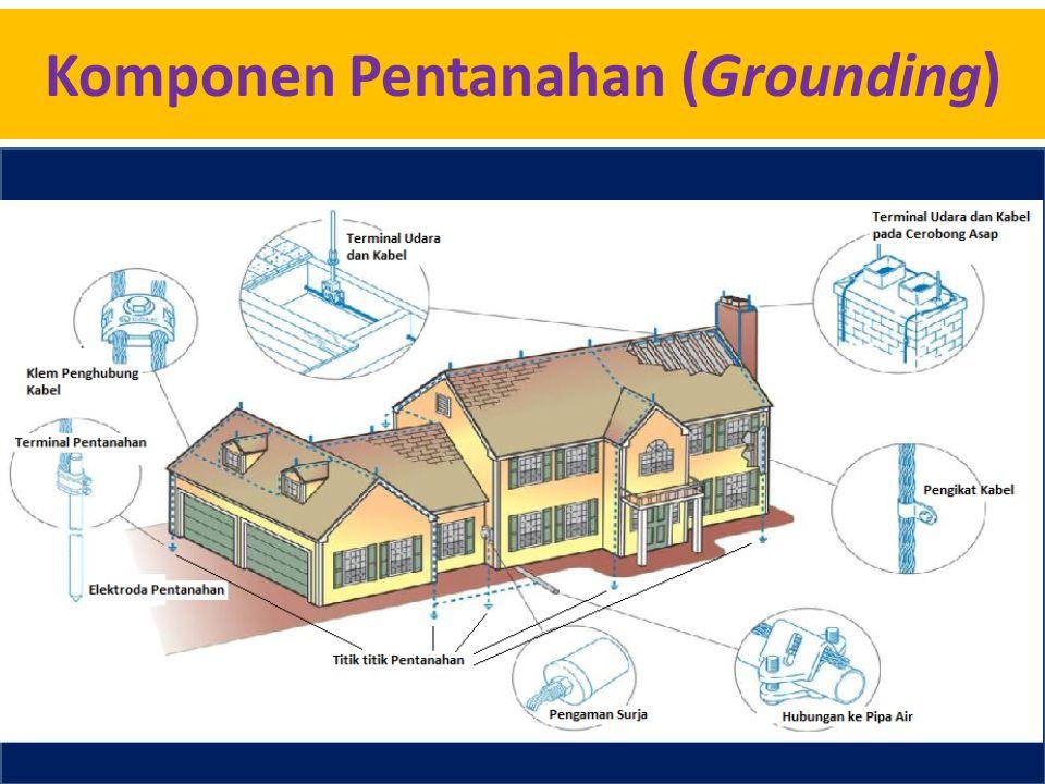 Komponen Pentanahan (Grounding)