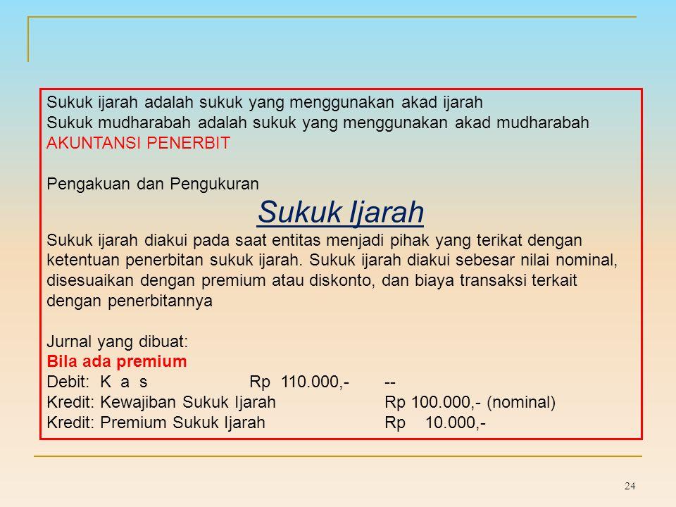 AKUNTANSI SUKUK DI INDONESIA 23 PSAK No.