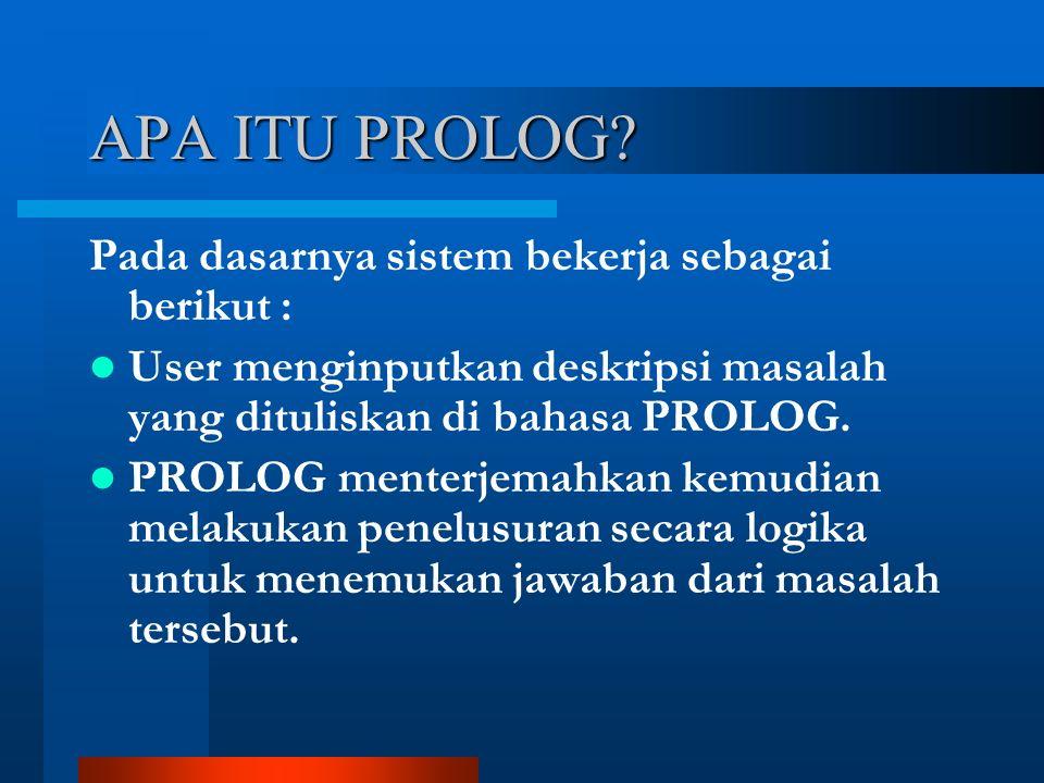 APA ITU PROLOG.