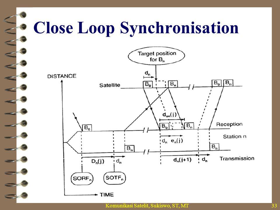 Close Loop Synchronisation Komunikasi Satelit, Sukiswo, ST, MT33