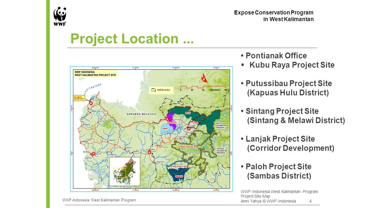 - Arabela landscape: 2,000,000 ha - Hulu Kapuas landscape: 4.3 juta ha - Paloh landseascape: 1,100,000 ha - Pawan-Kubu landseascape: 3,300,000 ha Landscape Approach