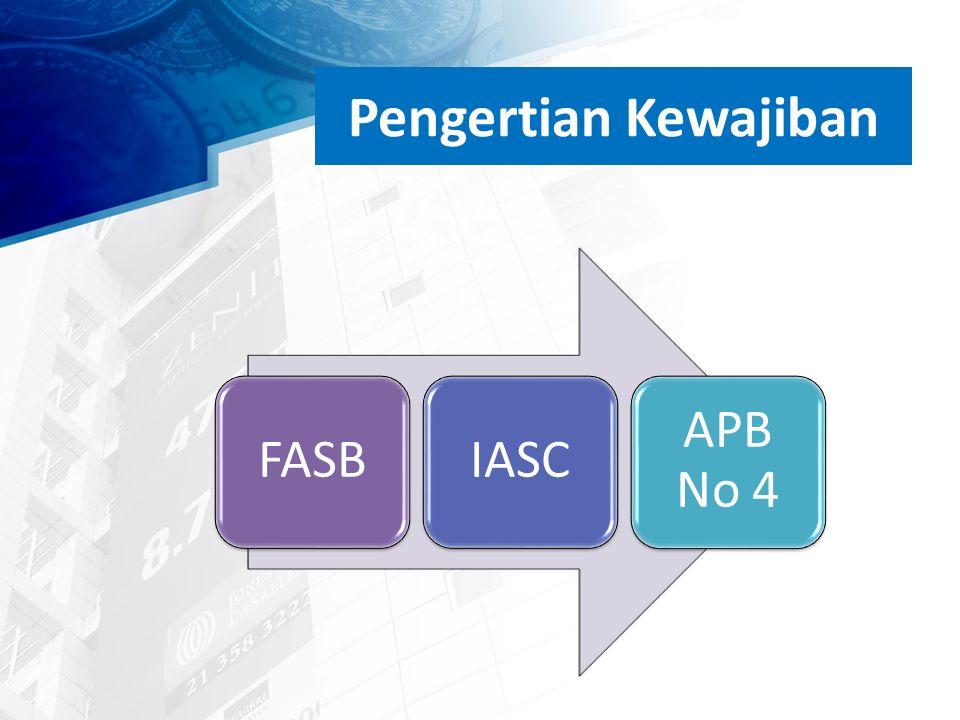 Pengertian Kewajiban FASBIASC APB No 4