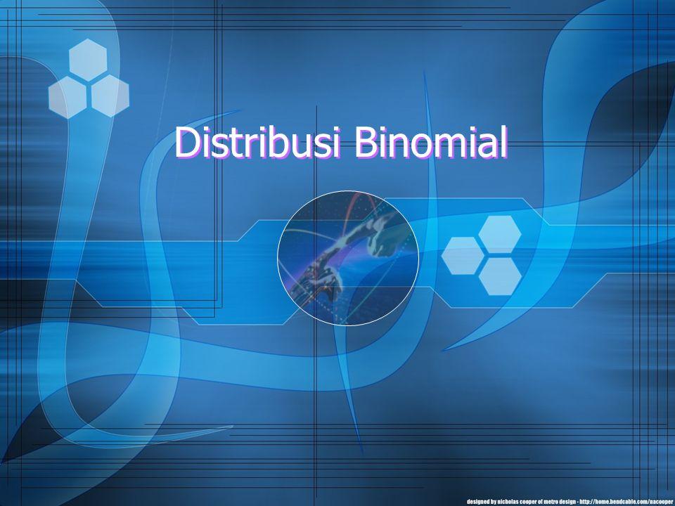 2 Pendahuluan Diantara sekian banyak distribusi barangkali distribusi normal merupakan distribusi yang secara luas banyak digunakan dalam berbagai penelitian.