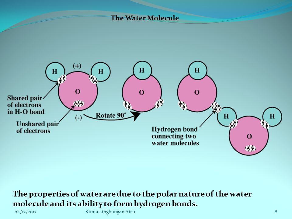 Acid in Water (Continued) The value of [H + ] in pure water at 25˚ C is 1.00  10 -7 mol/L and the pH is 7.00.