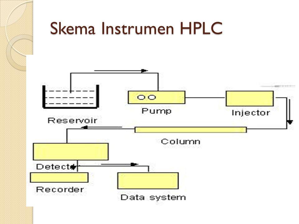 Skema Instrumen HPLC