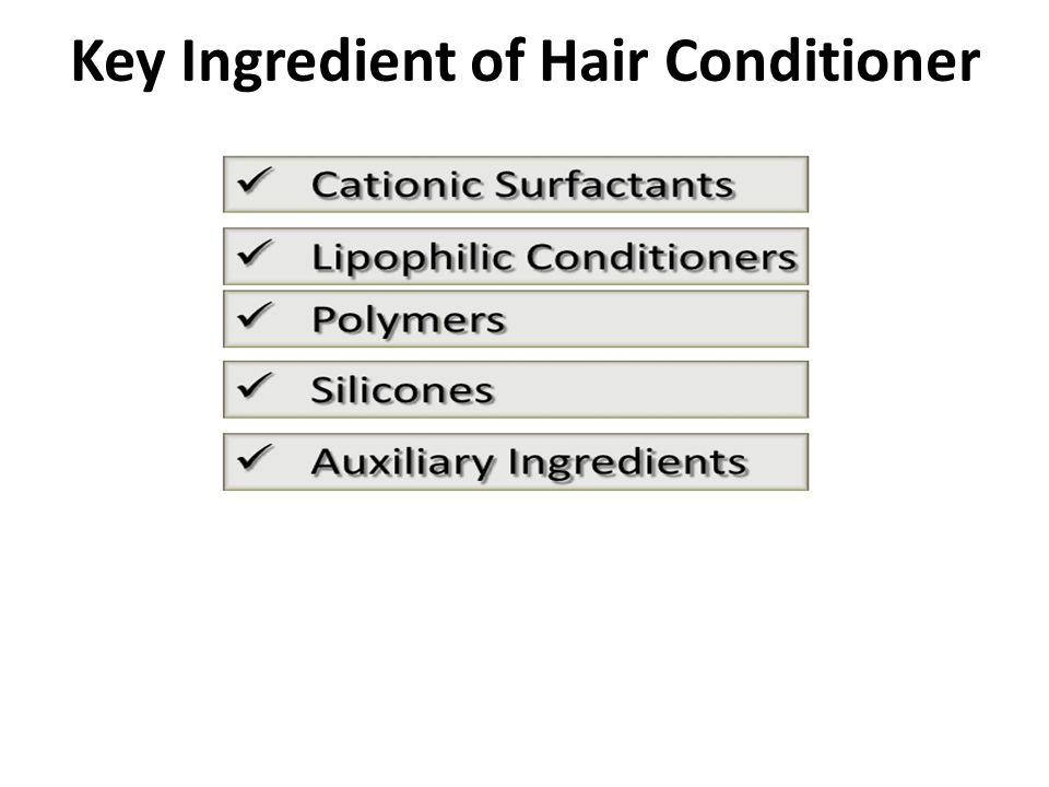 Key Ingredient of Hair Conditioner