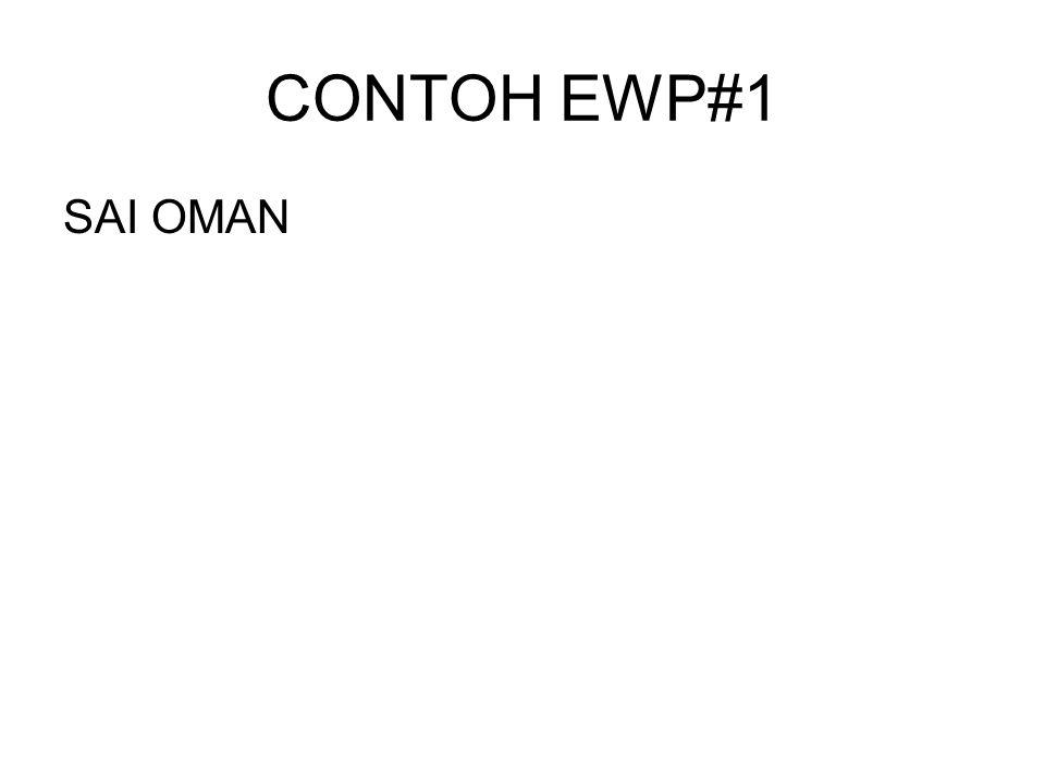 CONTOH EWP#1 SAI OMAN