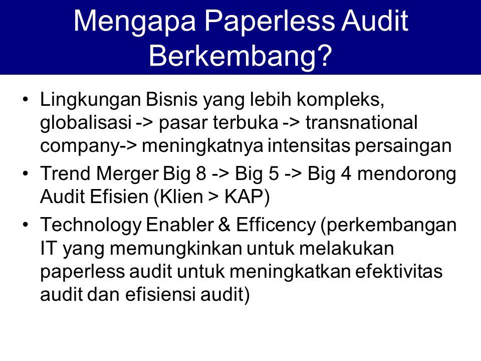 Definisi SPAP SA 339 par 03 Kertas kerja adalah catatan-catatan yang diselenggarakan oleh auditor tentang prosedur audit yang ditempuhnya, pengujian yang dilakukannya, informasi yang diperolehnya, dan simpulan yang dibuatnya sehubungan dengan auditnya.
