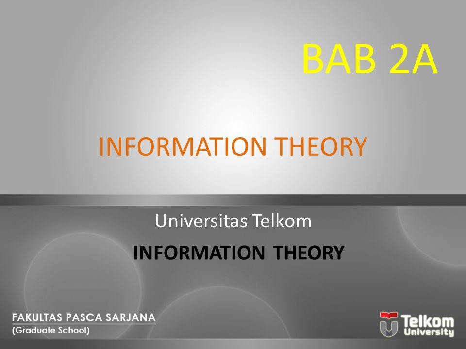 MUTUAL INFORMATION Informasi mutual menyatakan jumlah informasi yang dikirim jika x i dikirimkan dan y j diterima.