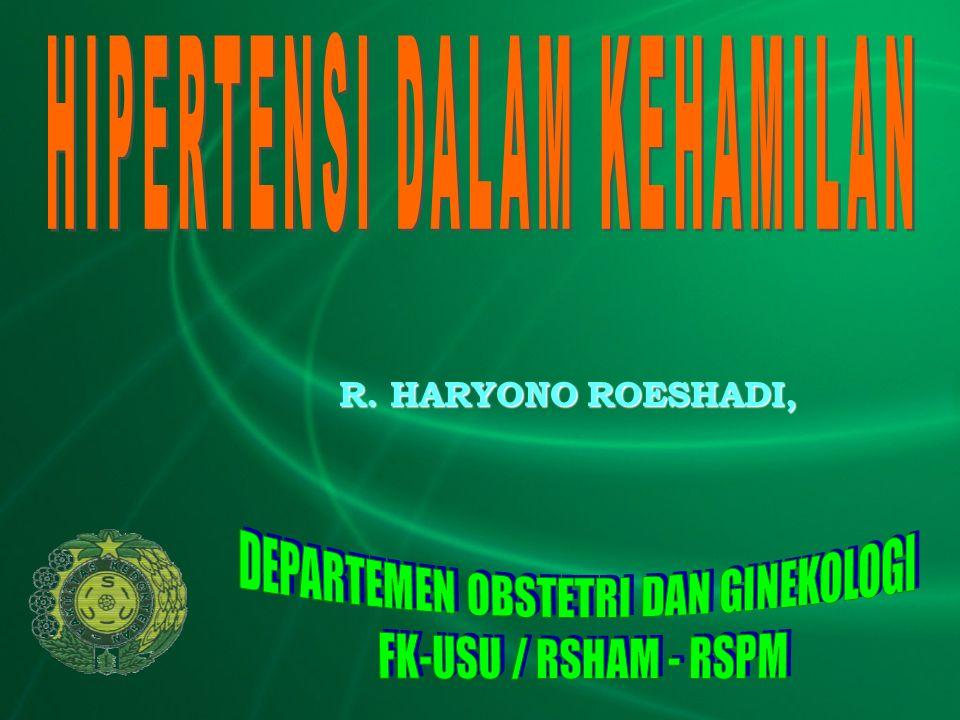 R. HARYONO ROESHADI,