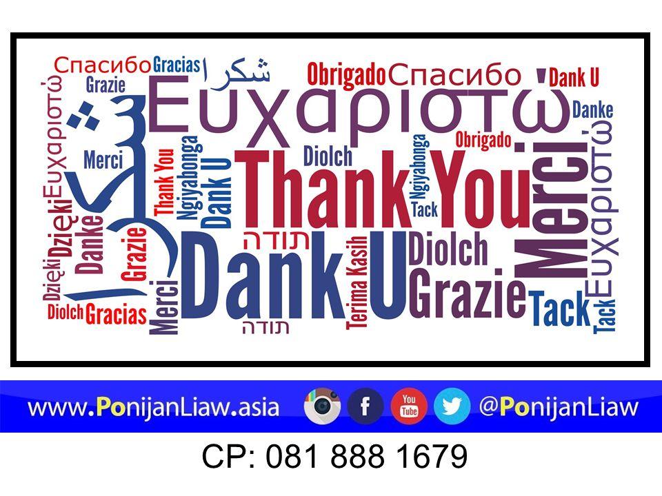 CP: 081 888 1679