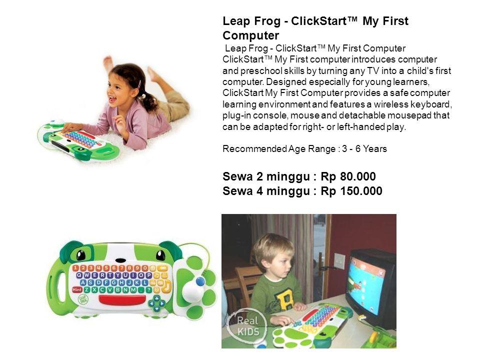 Leap Frog - ClickStart™ My First Computer Leap Frog - ClickStart™ My First Computer ClickStart™ My First computer introduces computer and preschool sk