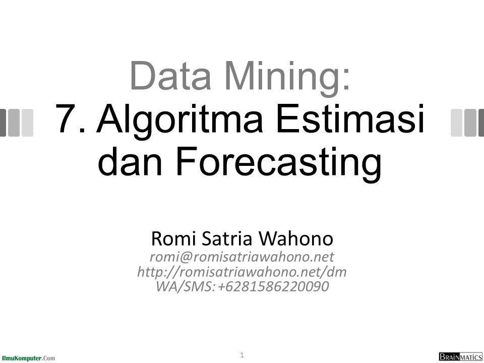 Data Mining: 7.