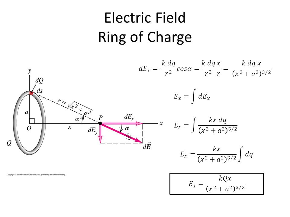 Electric Field Line of Charge