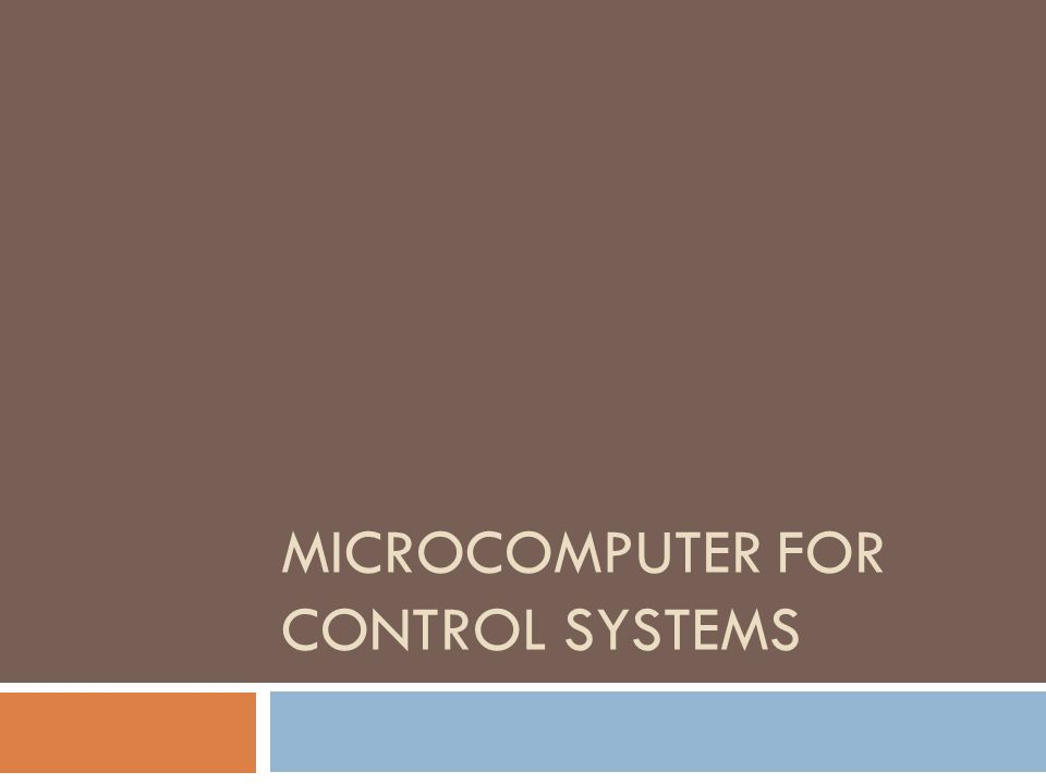 Microcomputer system with bus expansion capability