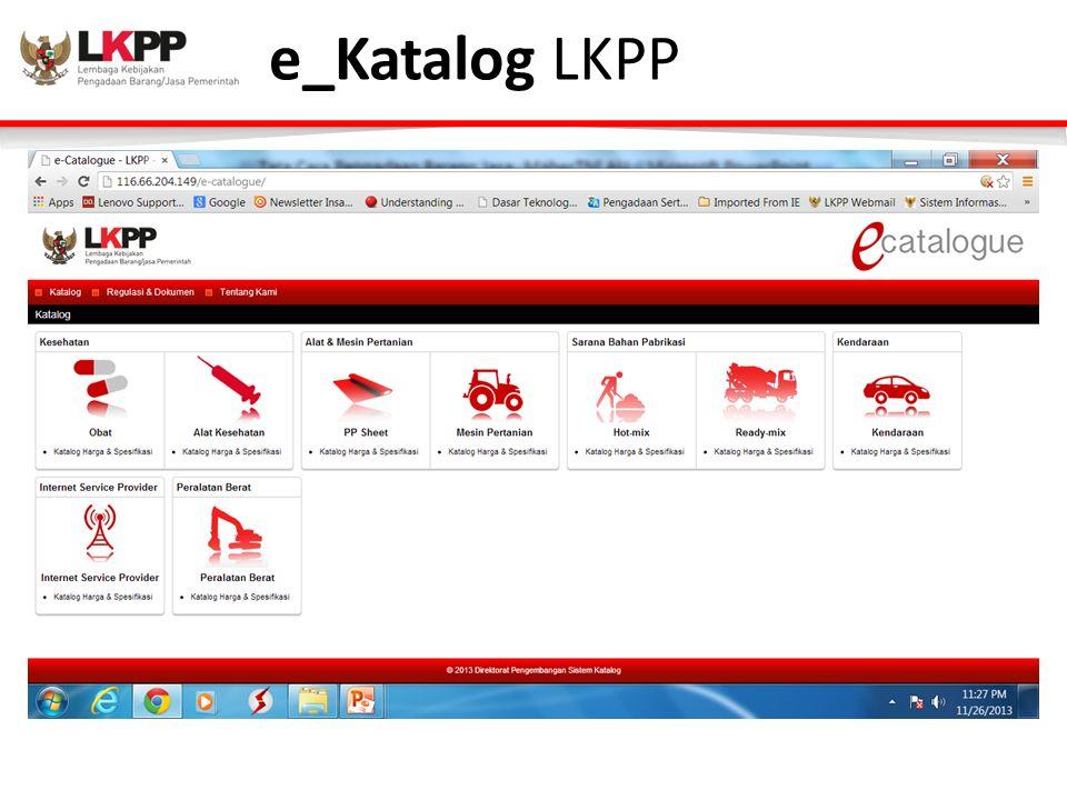 e_Katalog LKPP
