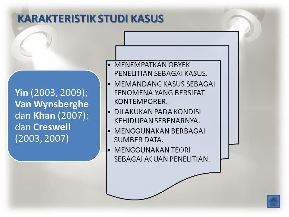 JENIS-JENIS STUDI KASUS PENELITIAN STUDI KASUS MENDALAM; PENELITIAN STUDI KASUS INSTRUMENTAL; PENELITIAN STUDI KASUS JAMAK; Stake (2005); berdasarkan karakteristik dan fungsi kasus.