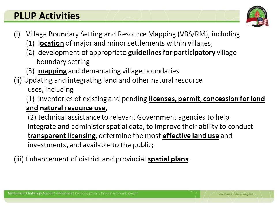 Village Boundary Survey