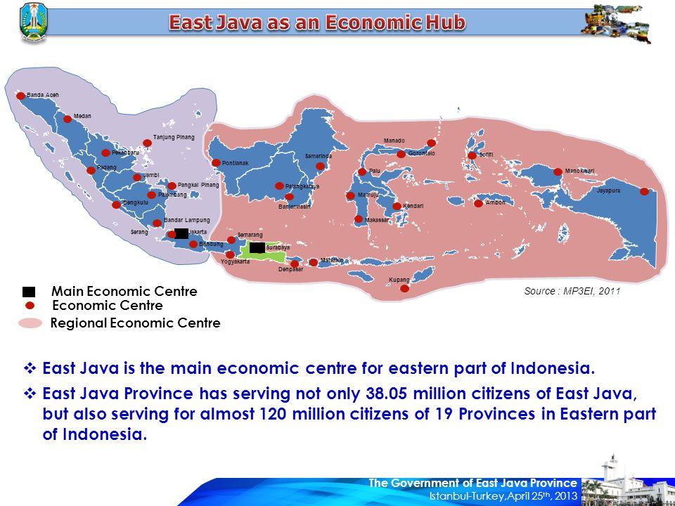 Main Economic Centre Economic Centre Regional Economic Centre Banda Aceh Medan Pekanbaru Padang Bengkulu Palembang Bandar Lampung Serang Jakarta Bandu
