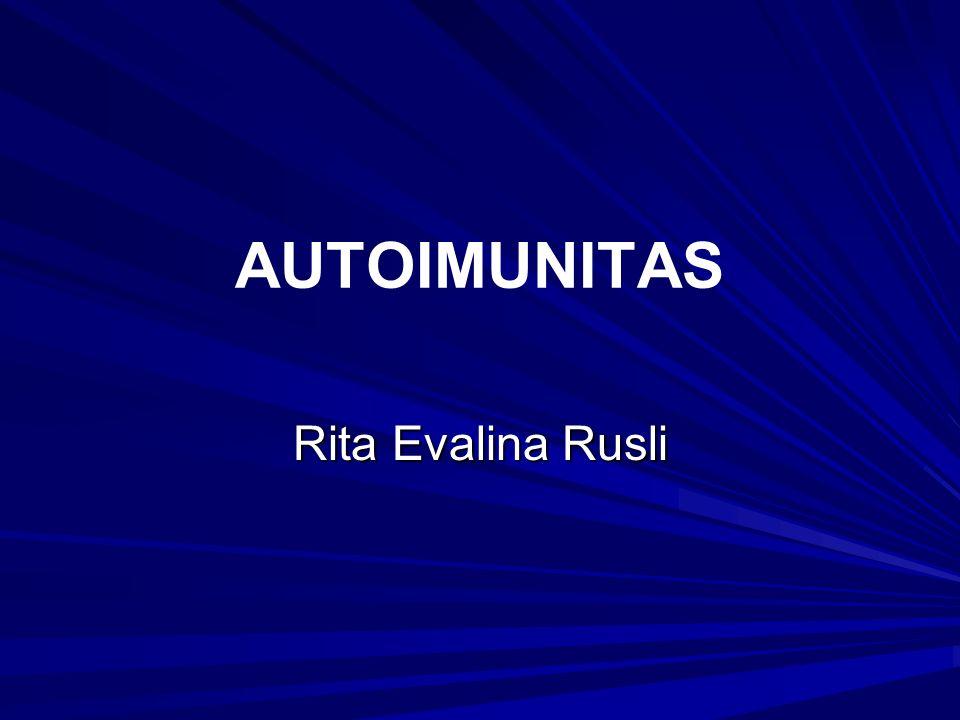 AUTOIMUNITAS Rita Evalina Rusli