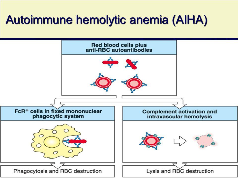 Autoimmune hemolytic anemia (AIHA) Autoimmune hemolytic anemia (AIHA)