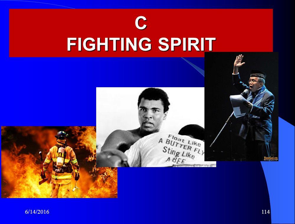 C FIGHTING SPIRIT 6/14/2016114