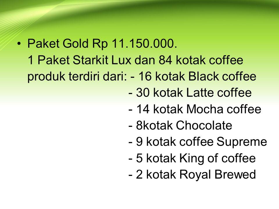 Paket Gold Rp 11.150.000.