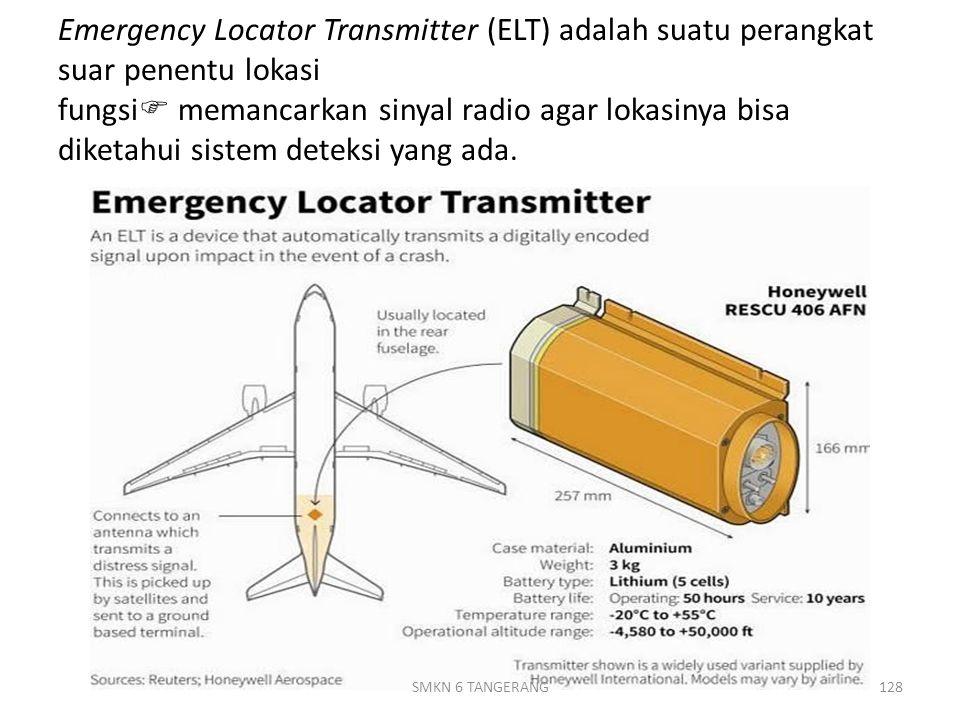 Emergency Locator Transmitter (ELT) adalah suatu perangkat suar penentu lokasi fungsi  memancarkan sinyal radio agar lokasinya bisa diketahui sistem deteksi yang ada.
