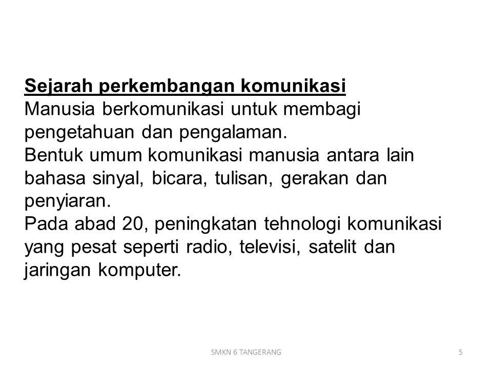 Line of signt / Gelombang langsung 96SMKN 6 TANGERANG