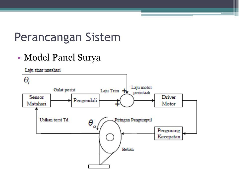 Perancangan Sistem Model Panel Surya