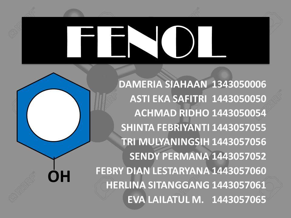 PENDAHULUAN Senyawa fenolik merupakan senyawa yang banyak ditemukan pada tumbuhan dan mempunyai ciri sama, yaitu cincin aromatik yang mengandung satu atau dua gugus -OH.
