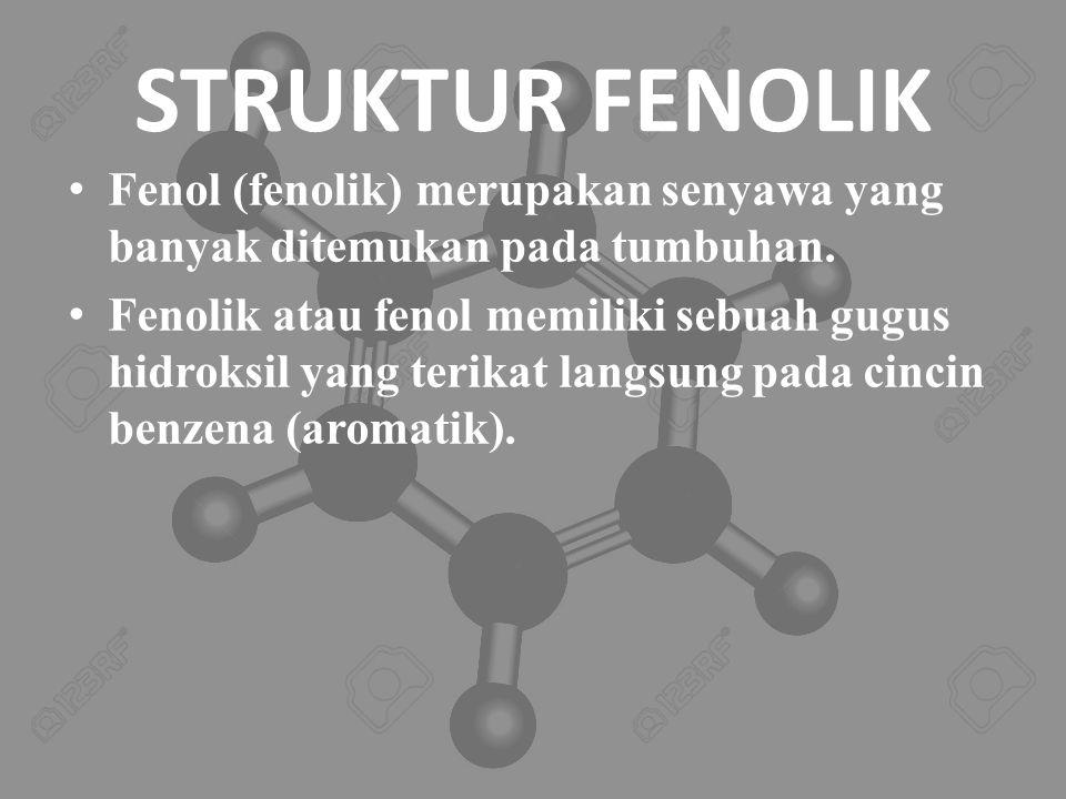TATA NAMA FENOL Pada banyak senyawa fenol merupakan nama dasar.