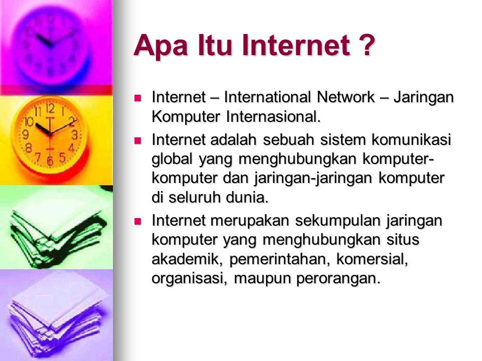 Pemanfaatan Internet Dalam Kegiatan Pemuda Advent By: Ari Palgunadi – adi@kreatifweb.com