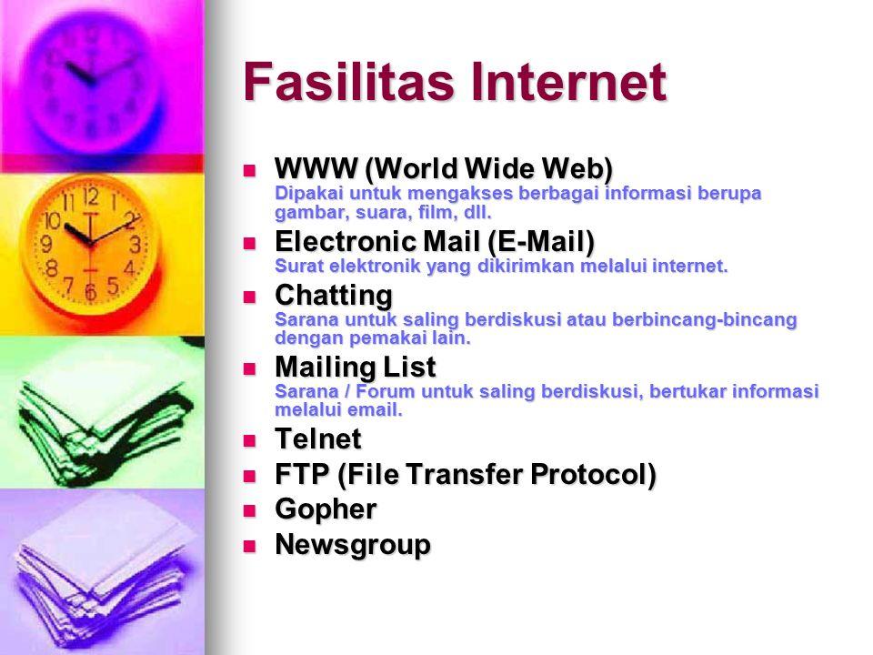 Apa Itu Internet ? LAN WAN-a WAN-b LAN INTERNET