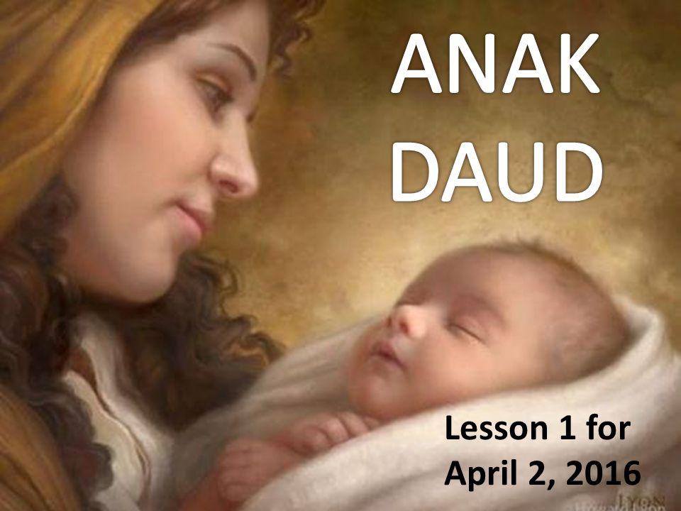 Lesson 1 for April 2, 2016
