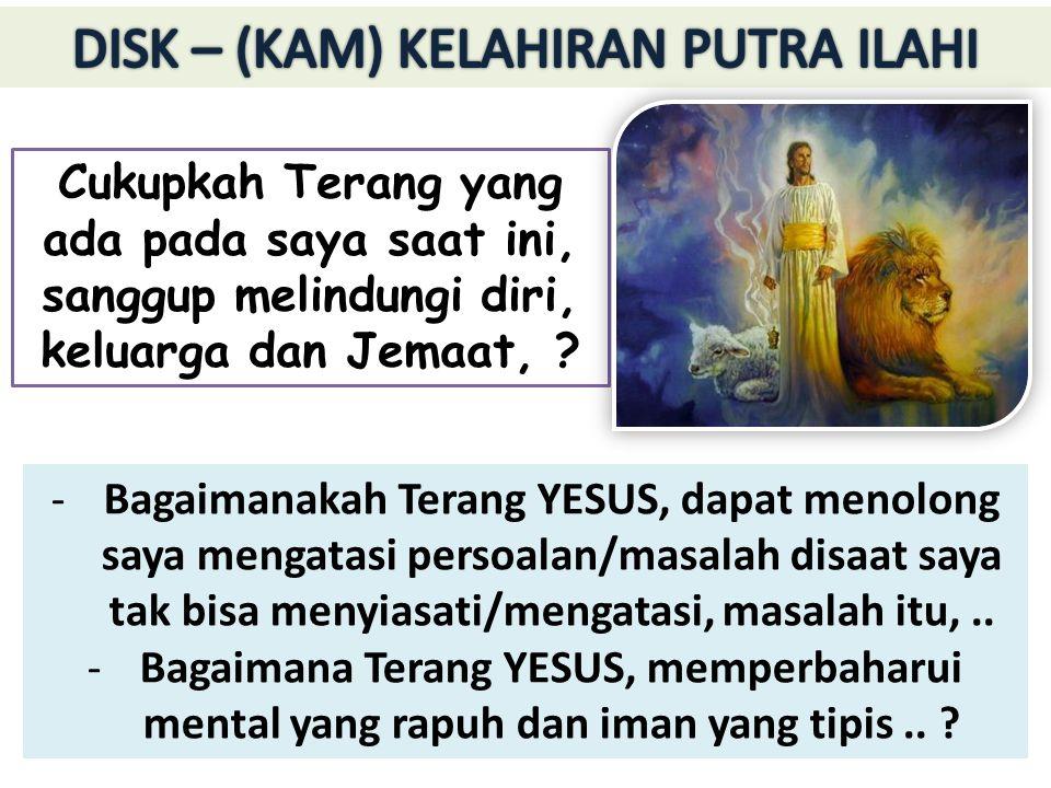 Rasul Matius dengan terperinci menjelaskan siapakah Yesus itu : 1.Yesus adalah Raja.
