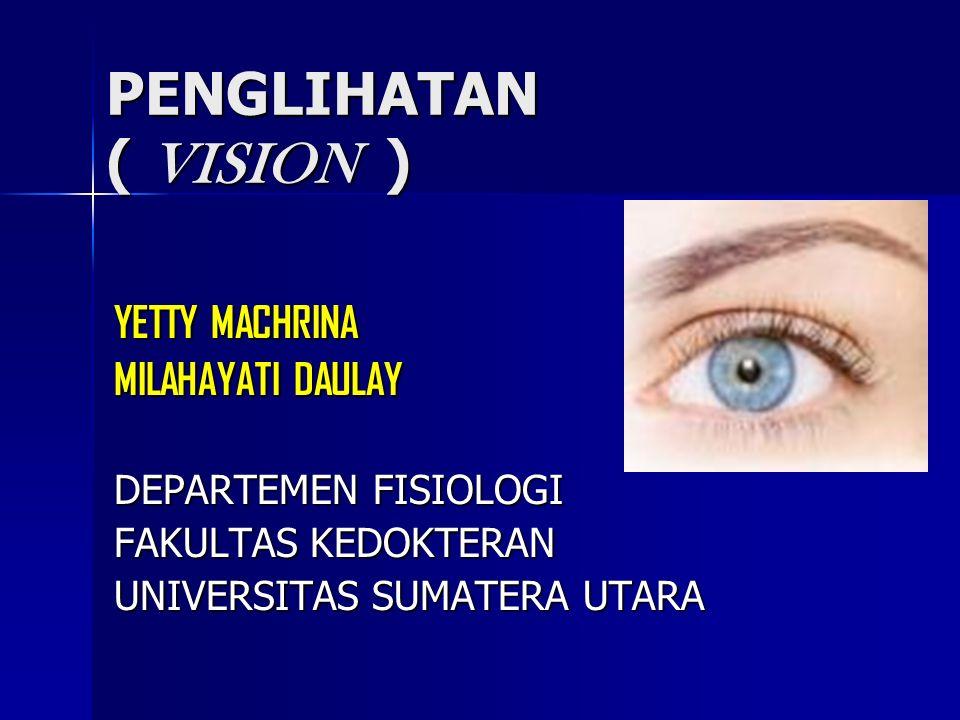 SPESIAL SENSE (Indra Khusus) VISION VISION HEARING HEARING SMELL SMELL TASTE TASTE EQUILIBRIUM EQUILIBRIUM