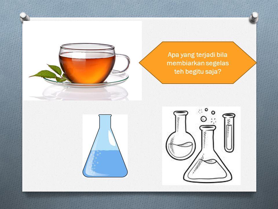 Apa yang terjadi bila membiarkan segelas teh begitu saja?