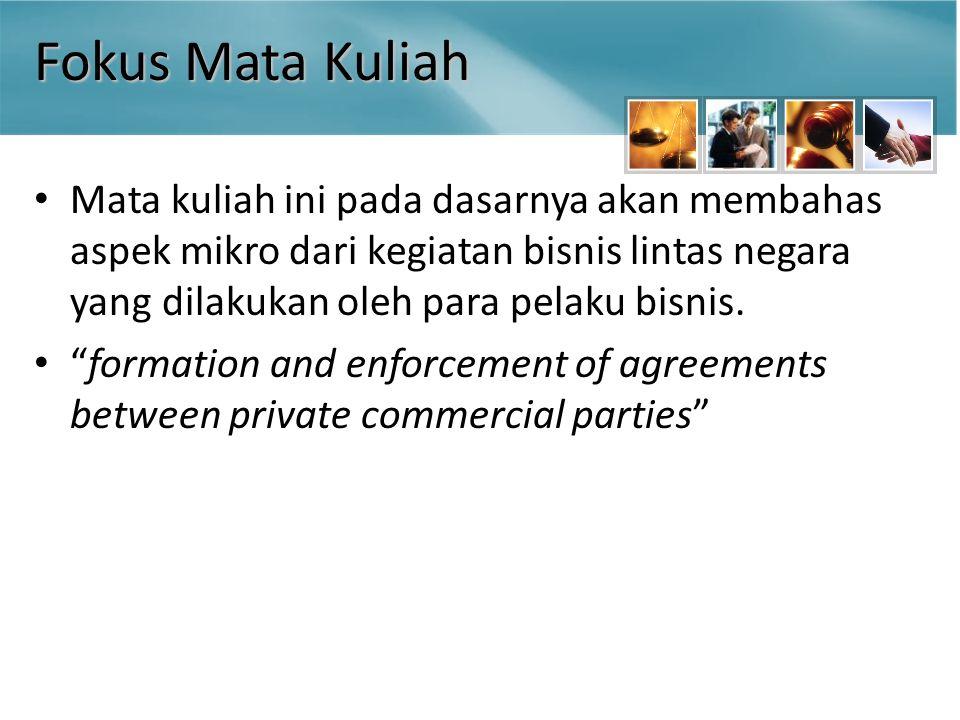 Pembentukan Kontrak Penawaran (offer) Kapan suatu penawaran menjadi efektif.